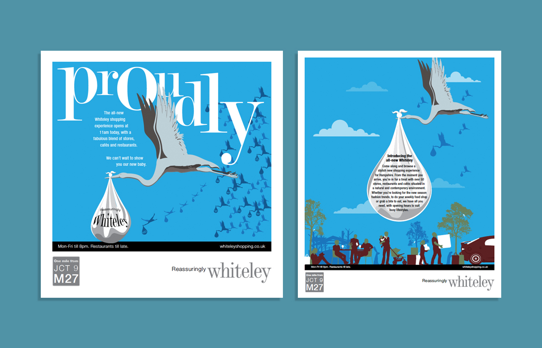 Whiteley posters