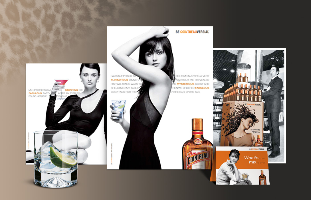 Cointreau Master campaign elements