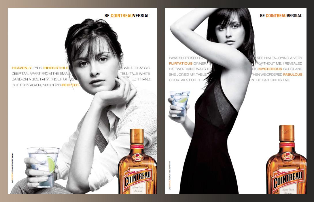 Cointreau campaign master ads