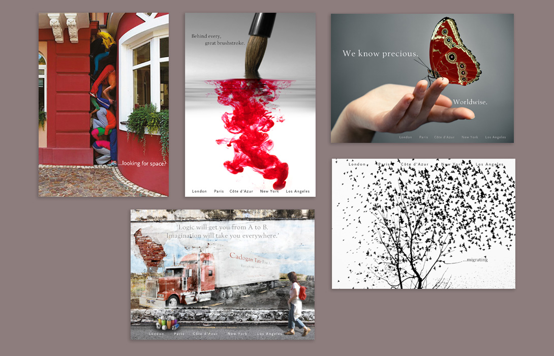 Cadogan Tate postcards