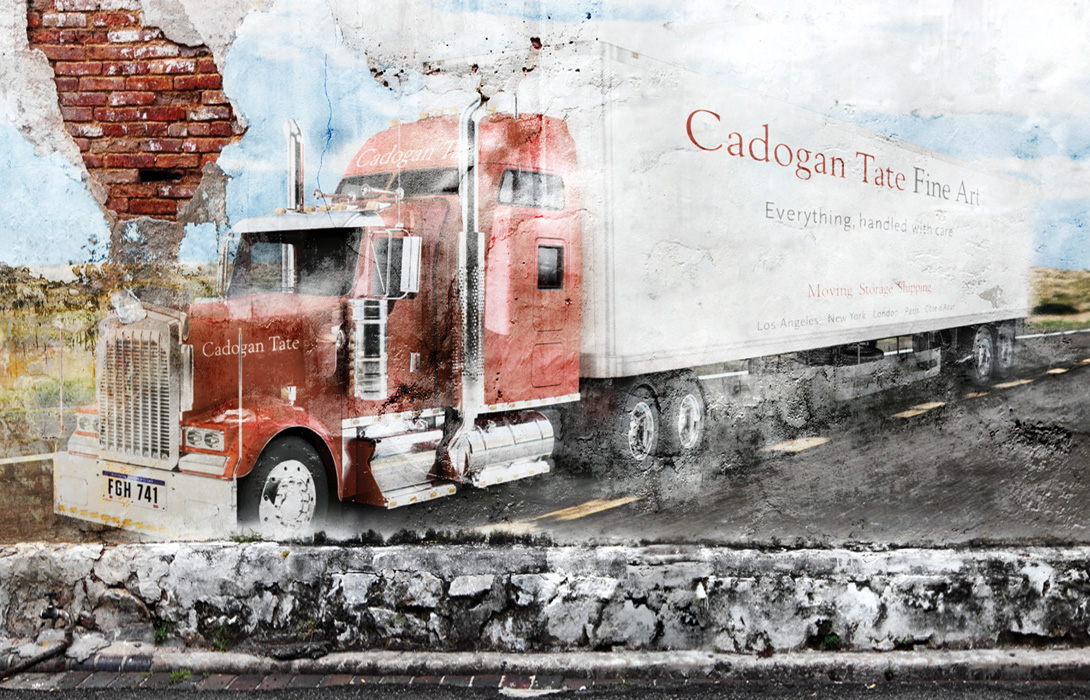 Cadogan Tate branding and artwork