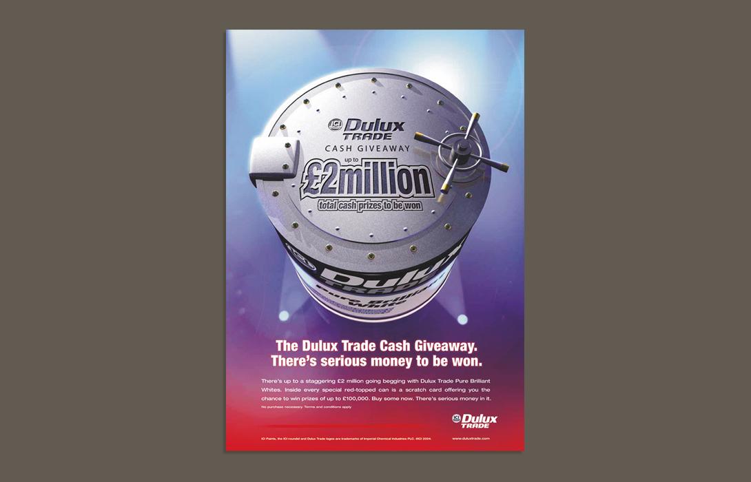Dulux trade campaign