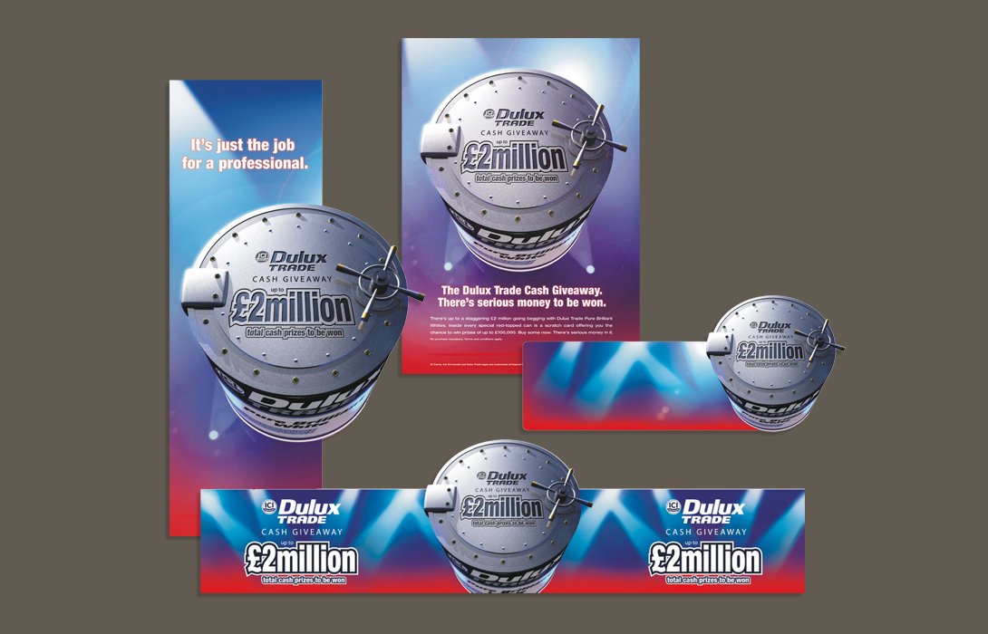 Dulux trade campaign elements