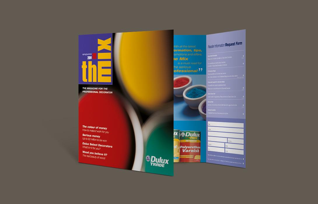 Dulux trade brochure ad