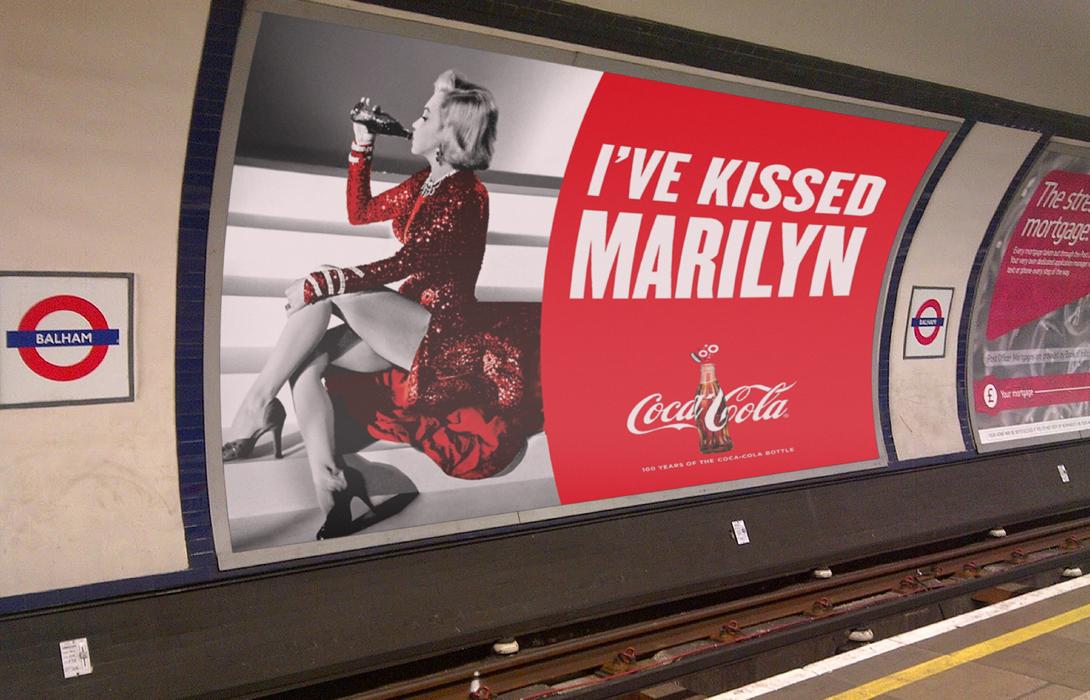 Coca-cola in the tube