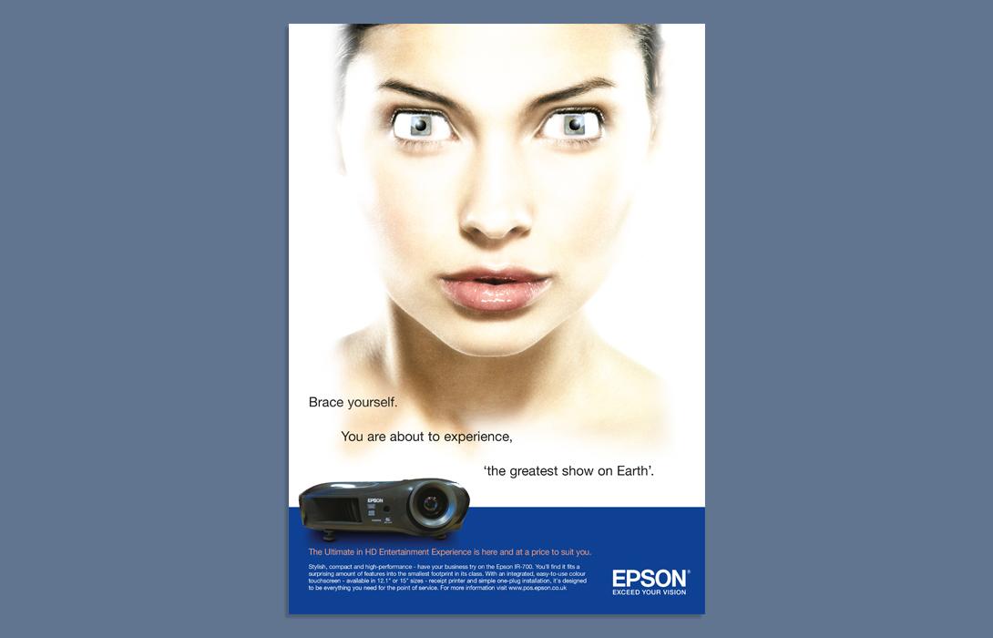 Epson advertising