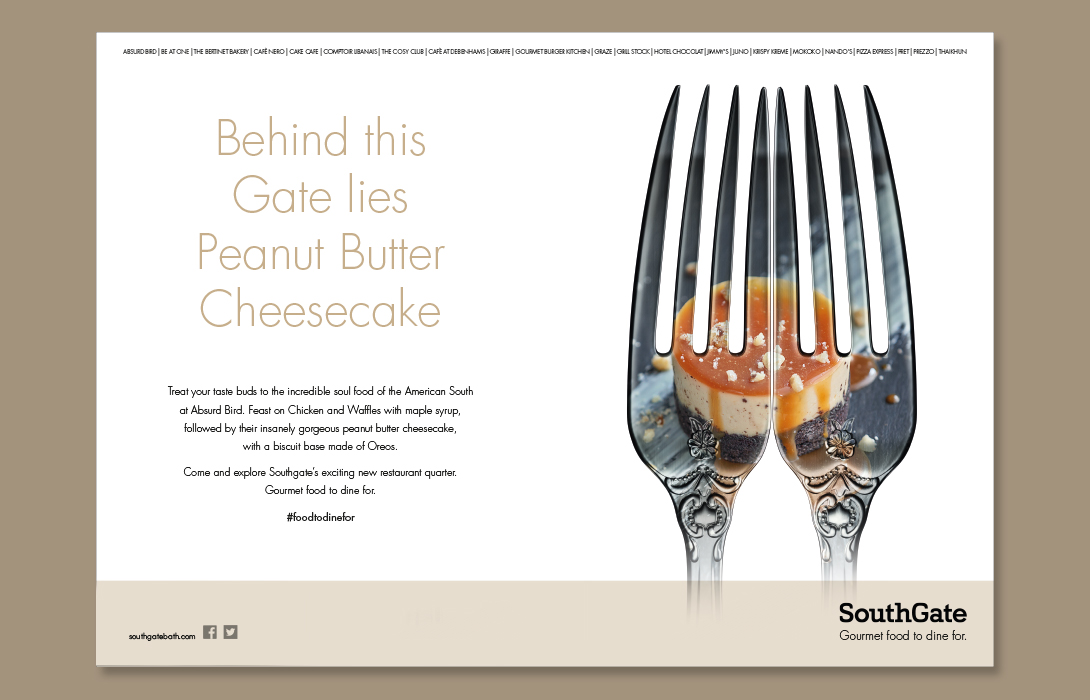 SouthGate Food campaign Creative Design Peanut Butter 2