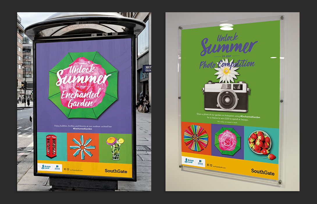 SouthGate Summer campaign