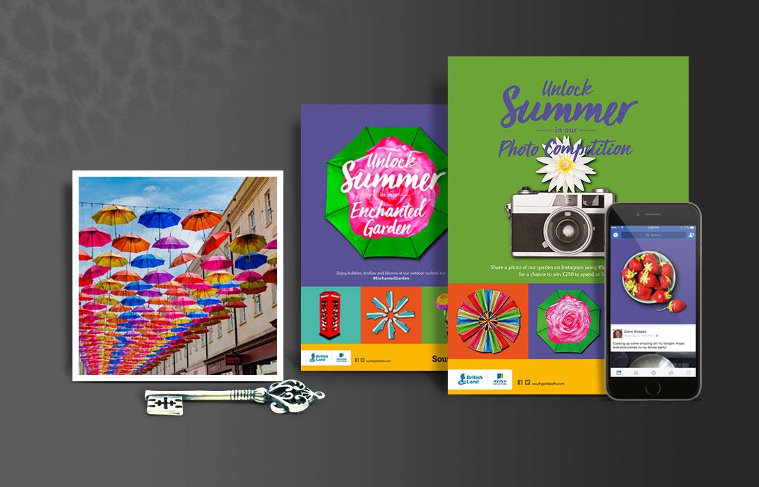 SouthGate Unlock Summer campaign