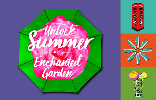 Brand Design Agency London, Enchanted Garden