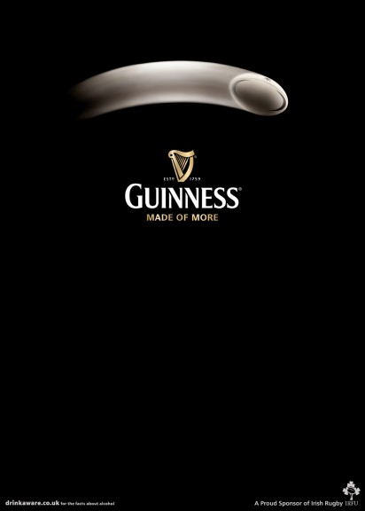 Guinness advertising poster