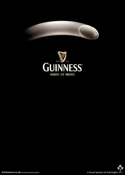 Guinness advertising poster