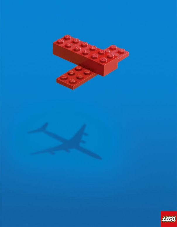 Lego advertising poster
