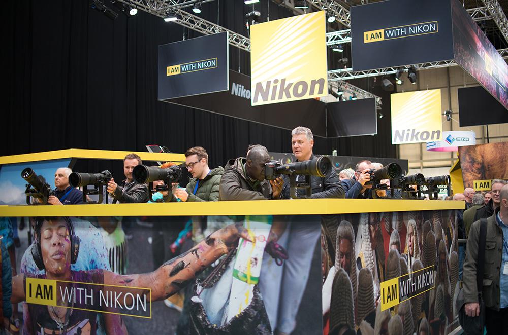 Photography show Nikon stand