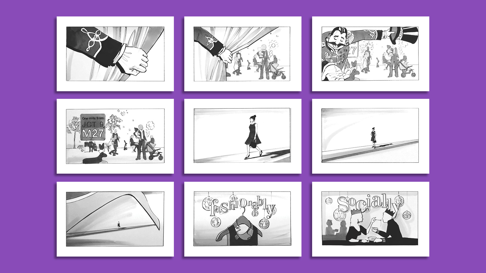 Whiteley Cineworld launch TVC storyboard