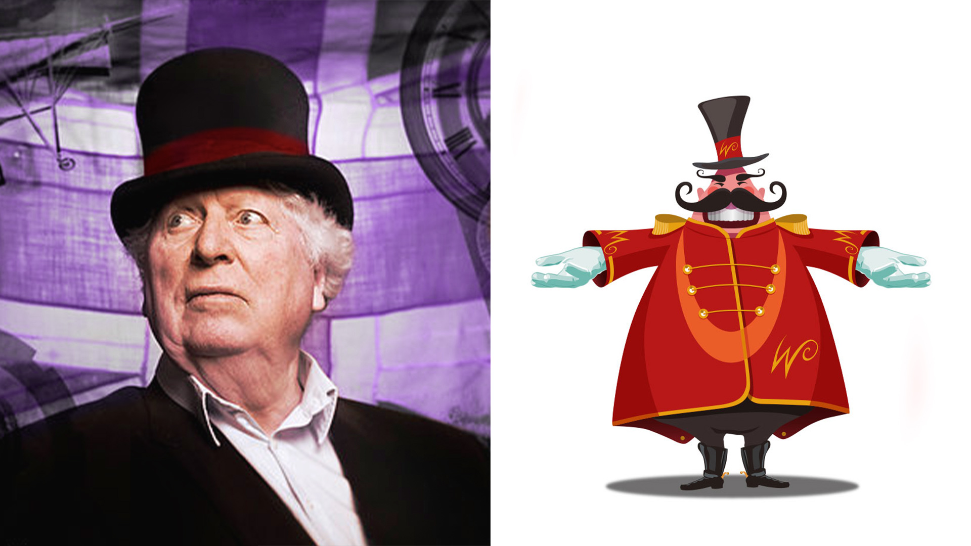Whiteley Cineworld launch Tom Baker voice actor