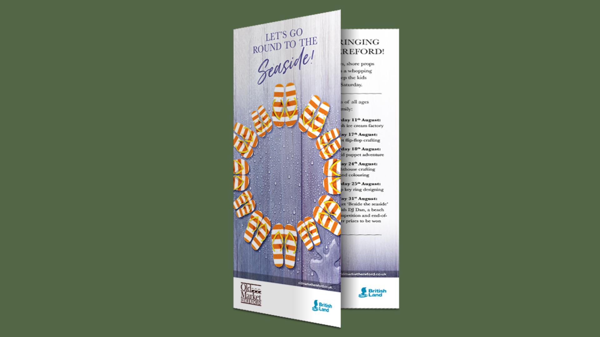 Old Market Summer campaign leaflet