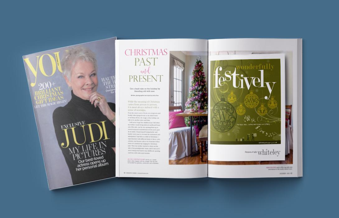 Whiteley Christmas magazine insert